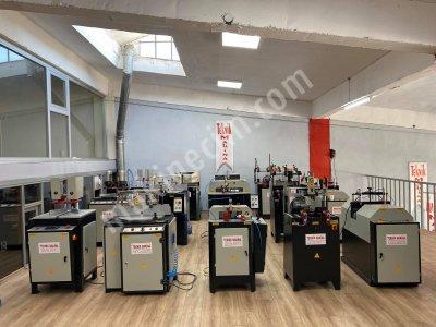 Tam Takım Pvc İşleme Makinaları 5 Li Set Pvc Makinaları