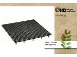 Black Poultry Floor Grid Hd-5521