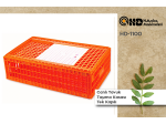 Poultry Transport Box Hd-1110