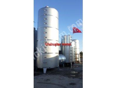 Paslanmaz Krom Çelik 304 Kalite 50 Ton Satılık Tank
