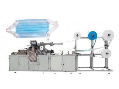 Kumaş Lastikli Full Otomatık Maske Makinesi Tasarımı
