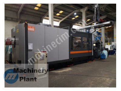 used injection machine sandretto 6000/1000