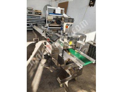2 Servolu Maske Ve Roll Ekmek Paketleme Makinasi