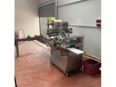 Antep makina roll ekmek paketleme makinası
