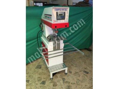 Kapalı Hazne Tek Renkli Tampon Baskı Makinesi TCC 101