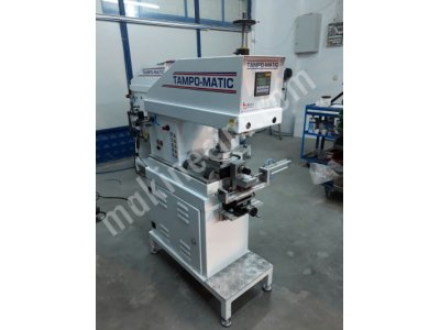 Yuvarlak Yüzeyler İçin Tampon Baskı Makinası RTR 101