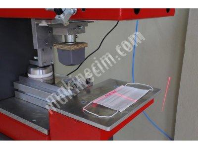 Maske Üzerine Baskı Makinesi Tampon Baskı Makinesi Tek Renk Kapalı Hazne TCC 101