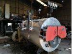 Brülörlü Buhar Kazanı Sıfır 600 kg  20m²