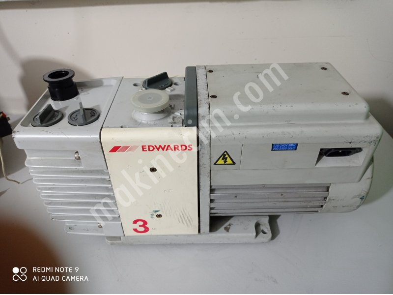 Edwards Rv 3 Vakum Pompası