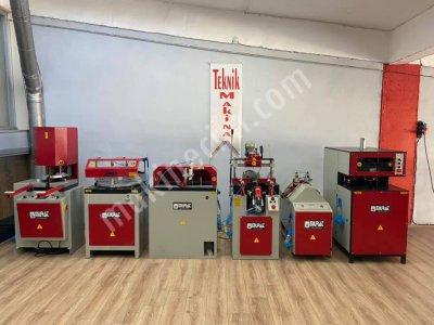 Tam Takım Murat Marka Tekli Grup Pvc Makinaları