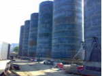 vegetable oil storage tank construction