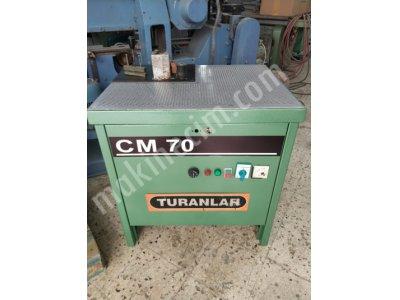 Turanlar Cm70 Eğri Kenar Bantlama Makinesi