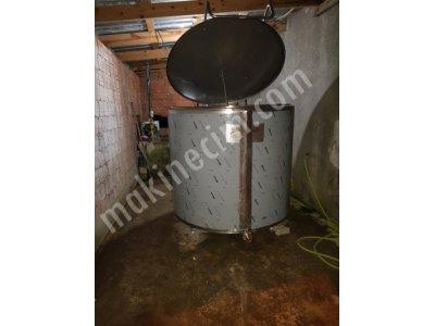 Hesaplı Süt Soğutma Tankı 1500 Lt Dikey Tip