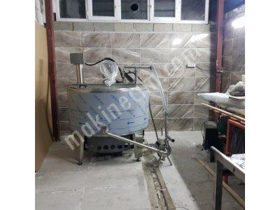 Hesaplı Süt Pişirme Tankı 150 Lt