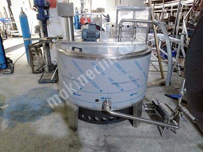 Hesaplı Süt Pişirme Tankı 300 Lt