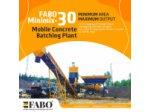 Minimix Fabo Mobil Beton Santralleri +90 507 793 2479