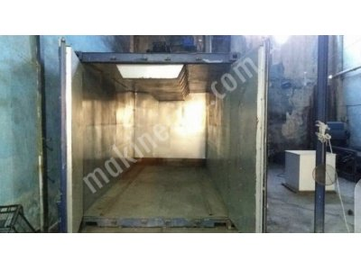 Secondhand Powder Coating Oven