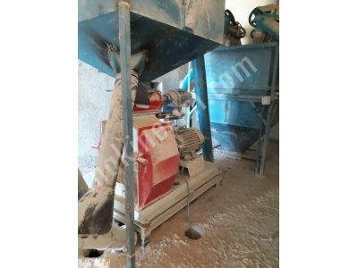 5 Ton/saat Kapasiteli Az Kullanılmış Yem Fabrikası